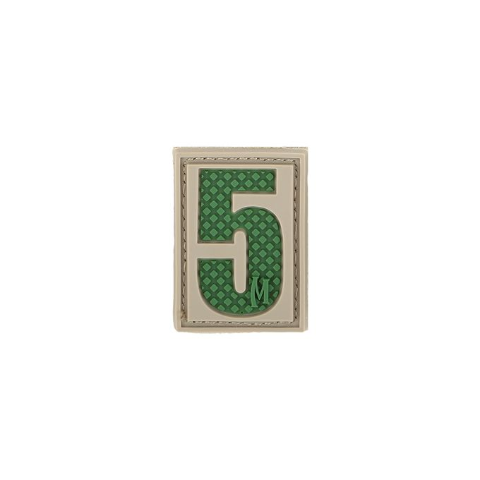 Number 5 Patch