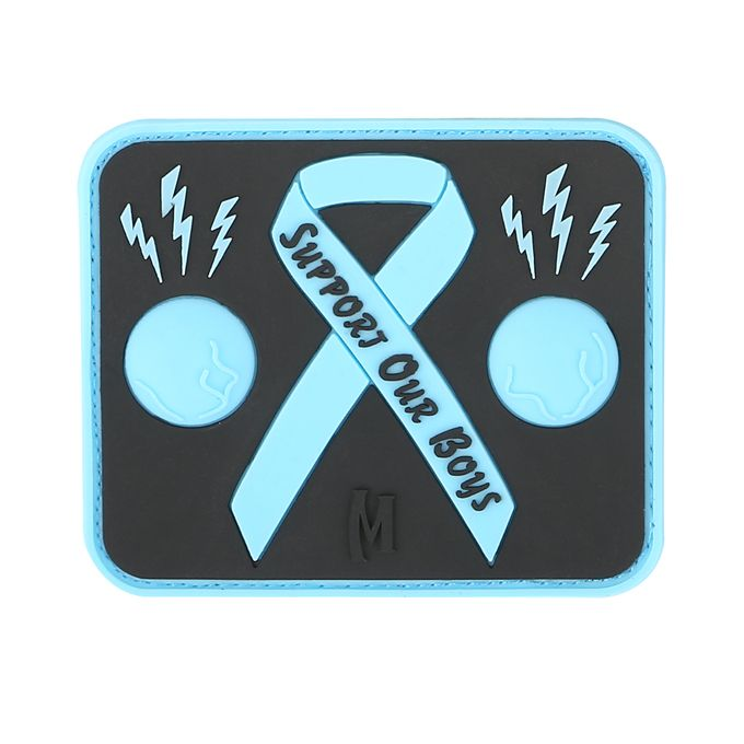 Blue Balls Awareness Patch