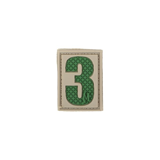 Number 3 Patch