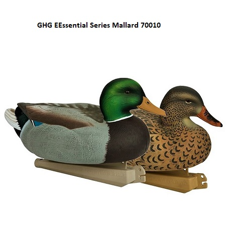 Комплект GHG из 12 муляжей утки Кряквы Essential Series Mallard