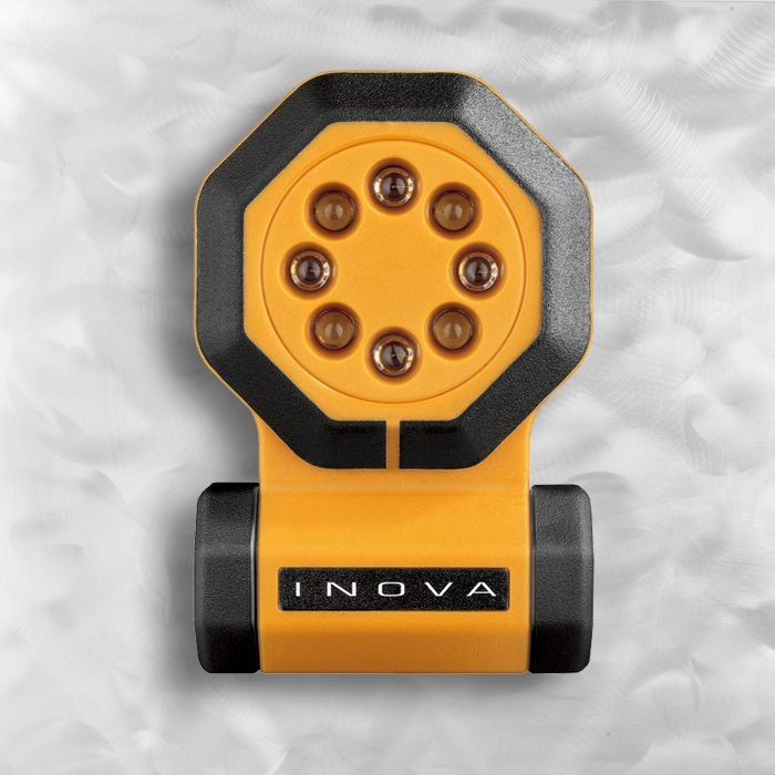 Светодиодный фонарь Inova, 24/7 - Yellow Body Flashlight, (1) 123A Lithium Battery, Hang Box картинка
