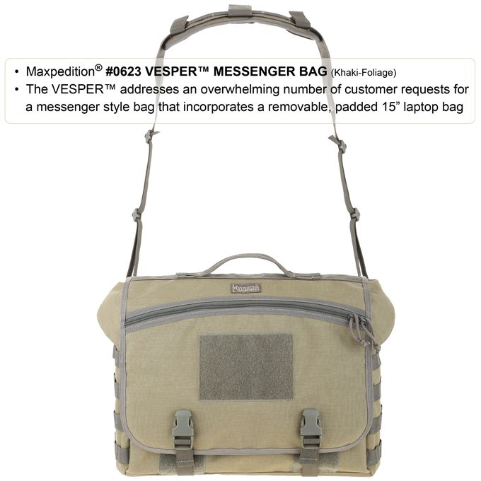 Cумка VESPER™ Tactical Laptop Messenger Bag