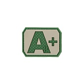 A+ POS Blood Type Patch 111
